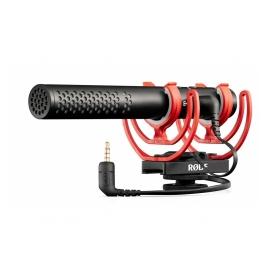 RODE VideoMic NTG - Micro canon à condensateur pour caméra vidéo ou APN