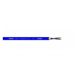 CORDIAL CMK 222 BL câble microphone, bleu