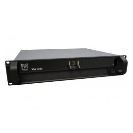 MARTIN AUDIO VIA2502 - Amplificateur 2 canaux, classe D