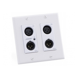 BOSE ControlSpace WP22B-D Wall Plate - Interface murale Dante