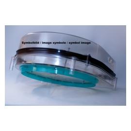 GOWILD GEB-250T150 - Boîtier d'encastrement à béton pour haut-parleurs, en plastique