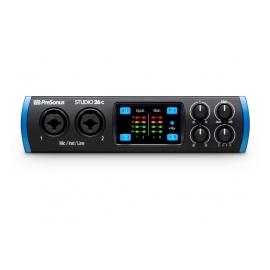 PRESONUS Studio 26c - Interface audio USB, 2In/6Out, USB-C