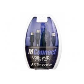 ART MConnect, USB-to-MIDI câble d'interface