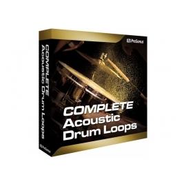 PRESONUS Acoustic Drum Loops vol. 2 - Complete - Boucles rythmiques stéréo et multipistes