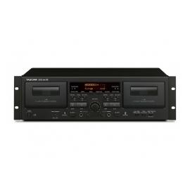 TASCAM 202mkVII - Double platine casette, USB
