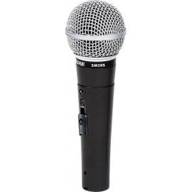 Shure SM 58SE , microphone dynamique, cardioïde, commutateur