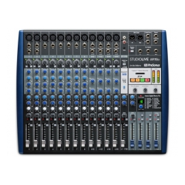 PRESONUS StudioLive AR16c - Table de mixage 18 canaux/Interface audio USB-C