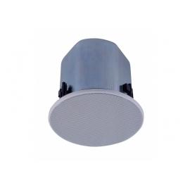 "TOA F-2322C - Haut-parleur plafonnier, 5"", large bande, blanc"