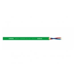 CORDIAL CMK 222 câble microphone, vert