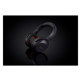 BEYERDYNAMIC Lagoon ANC, Traveler - Casque d'écoute Bluetooth, Active Noise Cancelling, noir/brun
