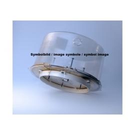 GOWILD GEB-160T120 - Boîtier d'encastrement béton pour haut-parleur, en plastique