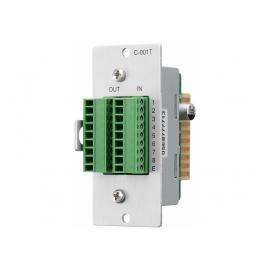 TOA C-001T - Module de commande d'entrée/sortie pour M-9000