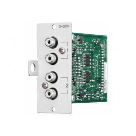 TOA D-001R - Module d'entrée ligne RCA 2 paires