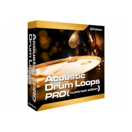 PRESONUS Acoustic Drum Loops - Boucles multipiste d'échantillons de batterie