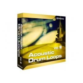 PRESONUS Acoustic Drum Loops vol. 2 - Stereo - Boucles rythmiques stéréo