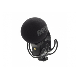 RODE Stereo VideoMic Pro R - Micro Stéréo double capsules à condensateur