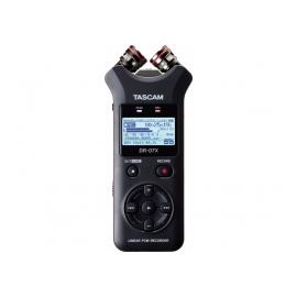 TASCAM DR-07X - Enregistreur stéréo portable, interface audio USB