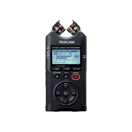 TASCAM DR-40X - Enregistreur 4 pistes portable, interface audio USB