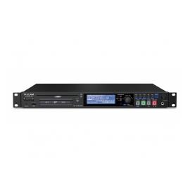 TASCAM SS-CDR250N - Enregistreur numérique avec graveur CD-RW, 1U, XLR, RJ45, RS 232