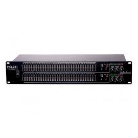 ART HQ231, Pro Dual 31 Band EQ, FDC