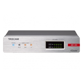 TASCAM AE-4D - Audio DSP, Dante, 4 canaux AES/EBU in & out