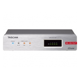 TASCAM ML-4D/OUT-X - Audio DSP, Dante, 4 Out analogiques