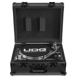 U91030BL2 FLT CASE MULTIFORMAT TT BLACK