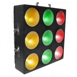 Matrice 3x3 9 LED's RGB 9W