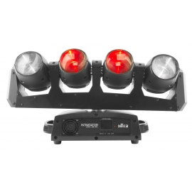 Moving Head 4SPOT 4LED 12W RGBW