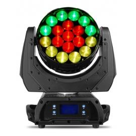 Moving Head 19 LED's 15W RGBW