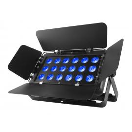 Projecteur 18 LED's RGB 3W USB