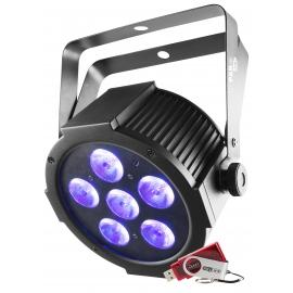 Projecteur 6 LED's HEX 10W USB