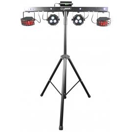 Rampe d'éclairage DJ 4-en1