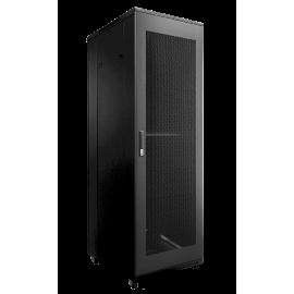 Porte grillagée perforée pour armoire rack SPRx42