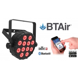 Projecteur 12 LED's 2.5W RGB / Bluetooth