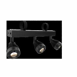 Bar de 3 projecteurs sur batterie LED 5W WW