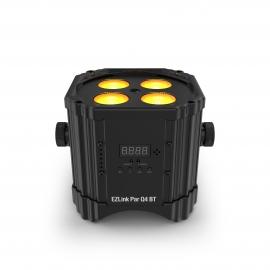 Projecteur sur accu et Bluetooth 4xLED Quad-Color