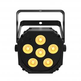 Projecteur sur accu et Bluetooth 6xLED 3W Quad-Color