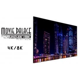 Ecran fixe 4K/8K 16/9 2700x1520 UltraSlim Platinium