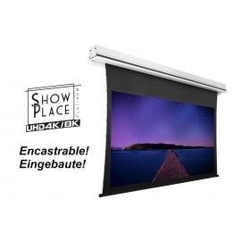 Ecran motorisé 4K/8K encastrable 16/9 2350 x 1320