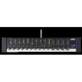 Préamplificateur Bluetooth 4 zones 8x Micros Input