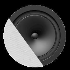 """HP encastré """"SpringFit"""" 6.5"""" 8ohm/100V@6W commutable - Blanc"""