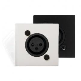 Transmetteur Actif Mural XLR Blanc