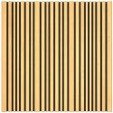 ARTNOVION Panneau Absorbeur Bois 60x60 - Marron (6 pièces)