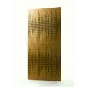 ARTNOVION Bass Trap Mural Bois 60x120 - Marron (2 pièces)