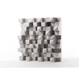 Panneau Diffuseur Polystyrène 60x60 - Gris (4 pièces)