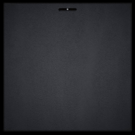 "Bass Trap ""Ajustable"" Coin Tissu 60x60 - Noir (2 pièces)"