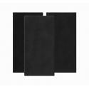 ARTNOVION Bass Trap Mural Tissu 60x120 - Noir (2 pièces)
