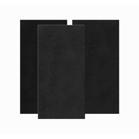 Bass Trap Mural Tissu 60x120 - Noir (2 pièces)