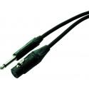 Neutrik NMKA10-BL    10m Longueur câble XLR - Jack